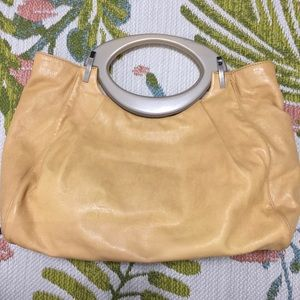 Marni Yellow Balloon Bag - Lucite Handles
